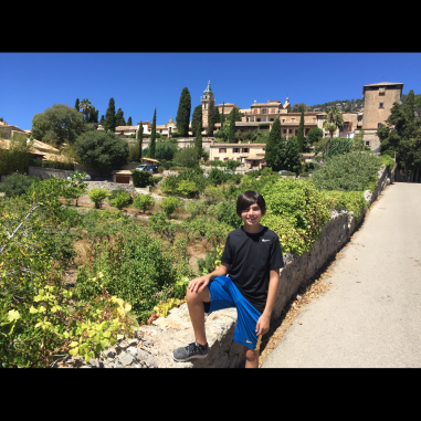 Valldemossa and the view